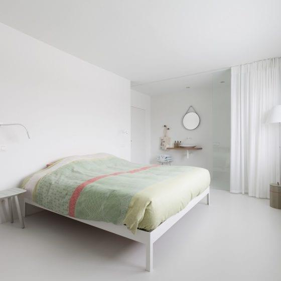 Urban Velvet slaapkamer hotel wit